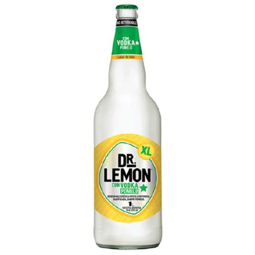 Dr. Lemon con vodka te refresca con su sabor pomelo
