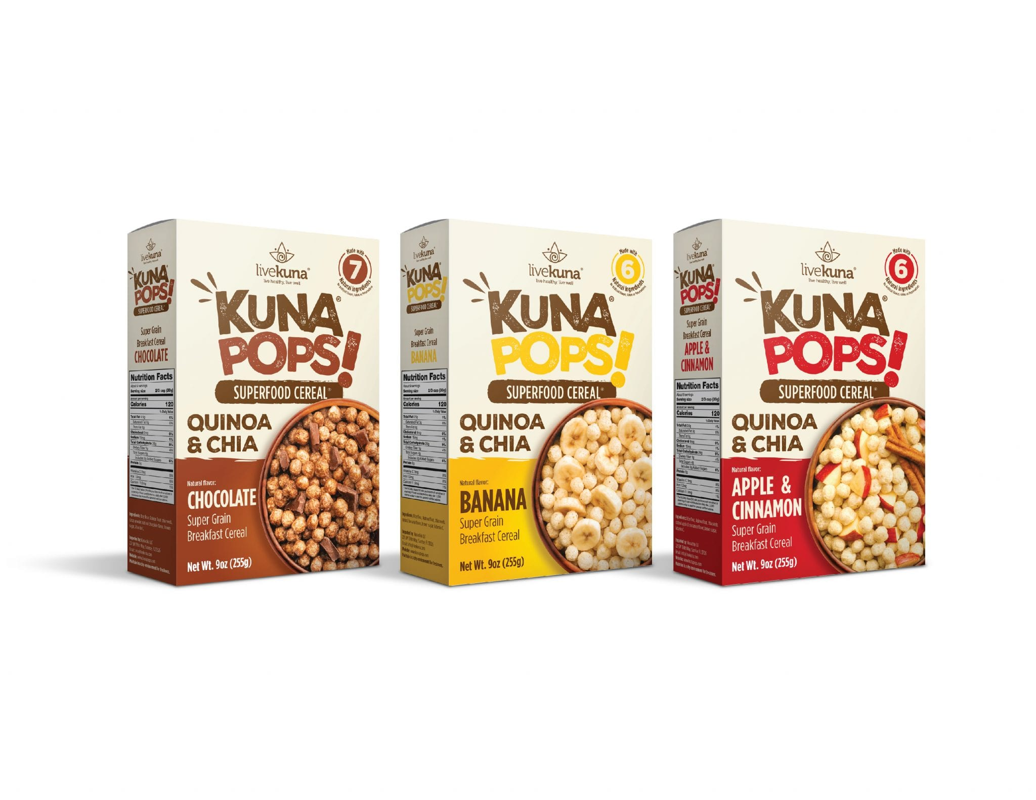 Kunapops, un cereal saludable