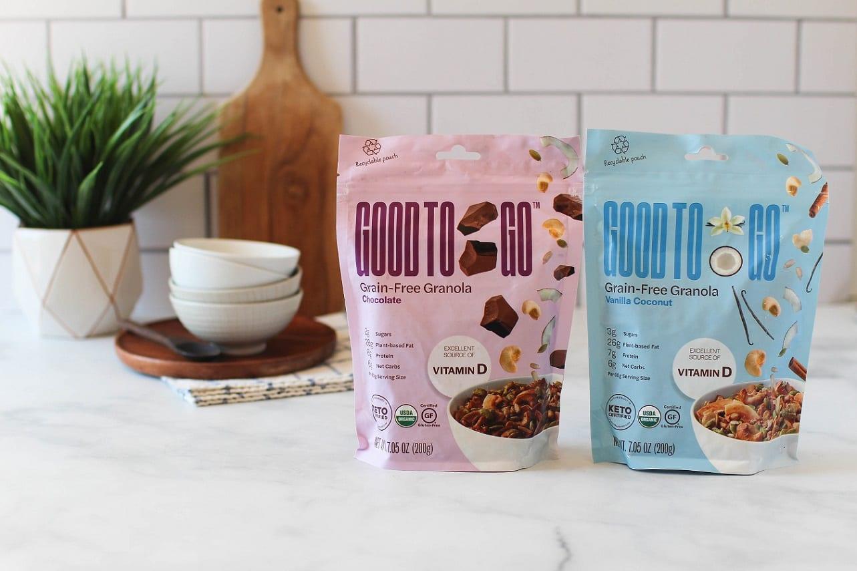 Good to Go presenta su granola sin cereales